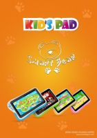 7 inch kids learning tablet supports multilanguage