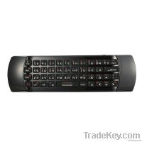 2.4G Wireless mini keyboard + Air Mouse + Remote controller + Audio
