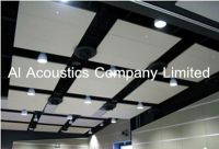 Acoustical Baffle Ceiling Treatment