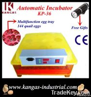 2014 Newest CE approved full automatic transparent 144 quail eggs