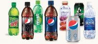 Coca-Cola,Pepsi, Mirinda, 7UP can drinks
