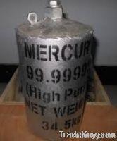 High Purity Liquid Silvery Mercury 99.999%