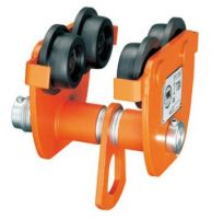 Anti-drop manual trolley hoist
