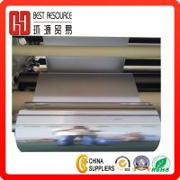 Metallized Aluminum Pet Film Silver Metalized Thermal Laminating Film