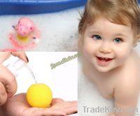 Natural baby bath sponges