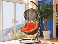 White Rattan Hanging Hammock Chair Furniture
