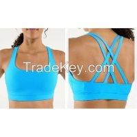 quick dry sublimation wholesale custom padded sports bra