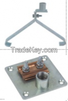 Faraday Rod Mounting Base / Tile Type / Ridge Type