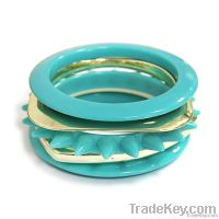 Polyresin/ Metal Fashion Jewelry Bracelet