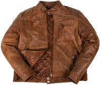 Pure Leather Men's brown Jacket