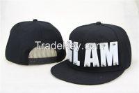Alibaba cap two tone contrasting color vans off the wall OEM custom logo hiphop flat snapback cap and hat
