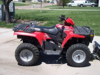 2005 POLARIS 400 Sportsman 4X4 ATV