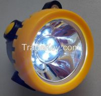 wireless mining headlight, LED miner lamp, IP54 hard hat light