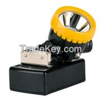 ATEX certified cordless mining headlight, LED miner lamp, IP54 hard hat light