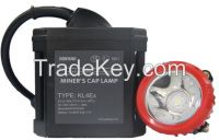 KL4Ex ATEX certified corded mining headlight, LED miner headlamp, IP54 mining light
