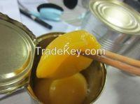 A10 canned peach halves
