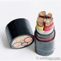 Copper electric power cable