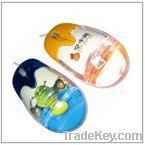 Liquid mouse, Aqua mouse, liquid wired mouse, Promotion floater mouse, 3D