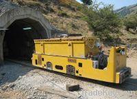 Mining locomotive