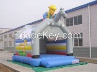 2014 Outdoor kids knight inflatable bouncer