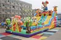 new design commercial wholesale Inflatable Slide Combo