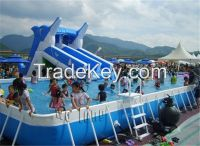 hot selling outdoor inflatable water slide, inflatable slide