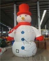 Outdoor inflatable snowman, Christmas inflatables for sale