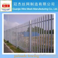 Low carbon steel wire palisade fencing anping