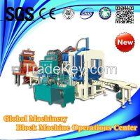QT4-20C hydraulic automatic brick making machine