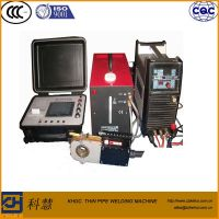 Automtaic closed chamber tube orbital welding machine