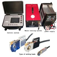 Automtaic orbital tube welding machine