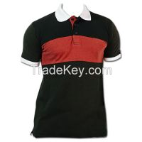 Front Strip polo tee shirt (POLO SHIRT)