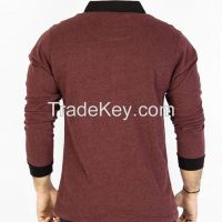 Long sleeve with cuff polo shirt (POLO SHIRT)
