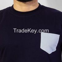 Tee shirt with front pocket (T-shirt)