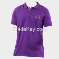 Embroidery design polo tee shirt (POLO SHIRT)