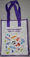 reusable pp woven bag for shopping