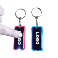 rubber soft pvc keychain