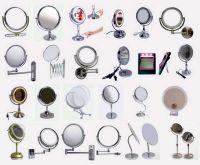 makeup mirror, light mirror, cosmetic mirror, vanity mirror, wall mirror