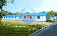 prefab house/home / modular house/ camping house, prefabricated house for living/office/warehouse