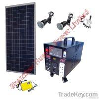 100W Solar Power Station ----- drive light fan tv pc laptop mobiles