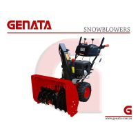 CE Approved Powerful 337CC Snowblower (GS1128-WA) / Newest