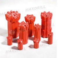 MAXDRILL Thread Button Bits