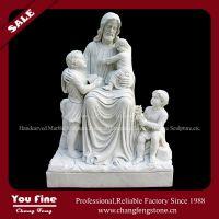 White marble Jesus religious statues