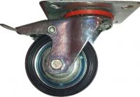 caster wheel with brake