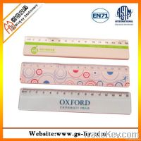 15cm length plastic ruler for kids, promotional rulers for measure