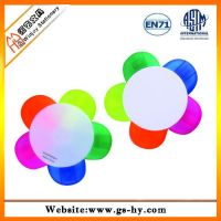 Promotional 5 colors flower shape highlighter