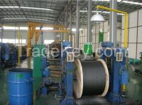 Gustav Wolf elevator steel wire rope/elevator part