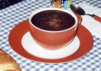 Cappuccino based on barley