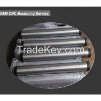 custom oem cnc machining part, precision steel shaft