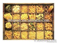 Frying pellet snacks machine